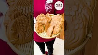 【6秒に1枚売れている噂のたい焼き】名古屋で一番キュートなたい焼きをお見せします fish bread / Japanese Street Food #Shorts