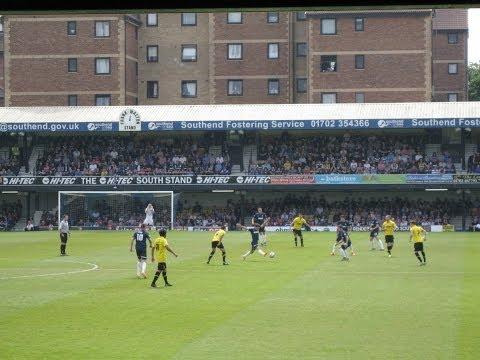 Southend United F.C 2-2 Burton Albion F.C (Burton Win 3-2 On Aggregate) : The Goals