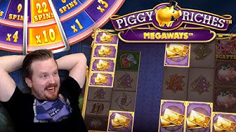 Double MEGA WIN in Piggy Riches Megaways