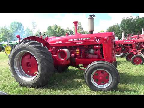 2019..Bruce County Heritage Steam And Tractor Show...Paisley Ontario