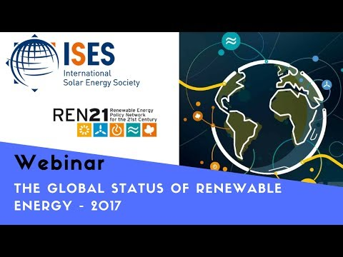 Webinar: Global Status of Renewable Energy 2017