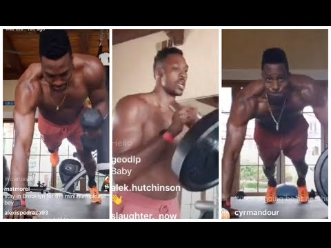 Dwight Howard has intensified his training after signing with the Washington Wizards