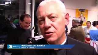 Religion : inauguration de la maison Jean Paul II