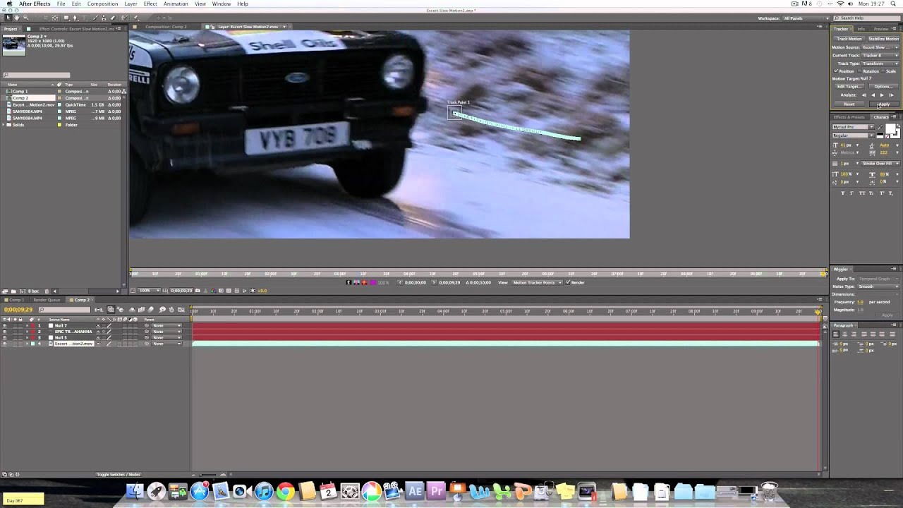 After effects motion tracking and simple masking tutorial really after effects motion tracking and simple masking tutorial really effective text on your videos youtube baditri Choice Image