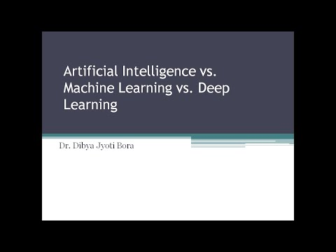 Artificial Intelligence vs. Machine Learning vs. Deep Learning- Part-1