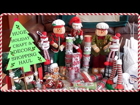 NEW! COLLECTIVE HOLIDAY CRAFT DECOR | SHOPPING HAUL