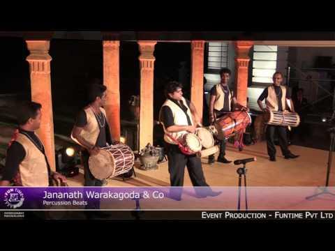 jananath warakagoda and co percussion beats youtube