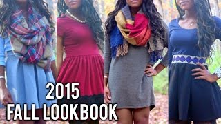 Fall Lookbook 2015| Nikki G