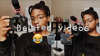 Videos I thought would flop ~ *DELETED VIDEOS* | SWAGPACK