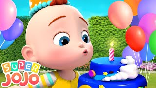 Swimming Song | Baby Learns to Swim + More Nursery Rhymes & Kids Songs - Super JoJo