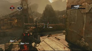 Gears of War 3 | Retro Sawed off FIASCO!