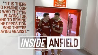 Inside Anfield: Liverpool 4-1 West Ham | Behind-the-scenes tunnel cam