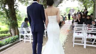 Tracy and Hong - Beautiful Garden Wedding