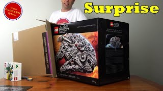 Surprise Gift! LEGO Millennium Falcon UCS From LEGO Store Disney Springs