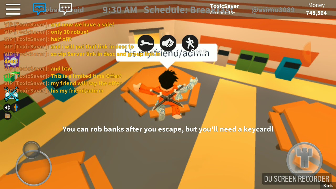 Roblox jailbreak vip Server Link! PLUS FAN GROUP LINK