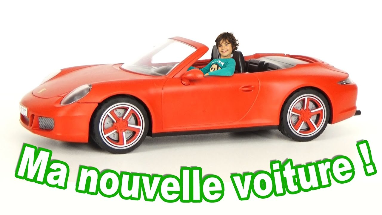 Ma nouvelle porsche 911 carrera s 3911 vid o playmobil for Plans de dessins de porche