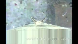 space x landing (false rocket image overlay)