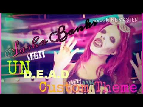 afeecaa47 Sasha Banks Short Zombie Theme - YouTube