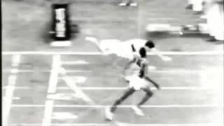 Milkha Singh in 1960 Olympic Final ( Rome)