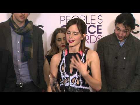 Emma Watson With Perks Cast / PCA Press Room