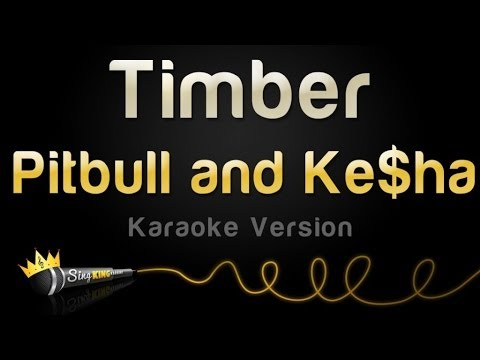 Pitbull and Ke$ha - Timber (Karaoke Version)