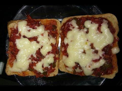 Easy Bread Pizza | Healthy Bread Pizza | Pratu's Kitchen