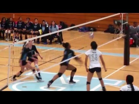 Dionne Dean Volleyball Highlights