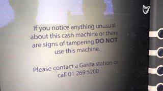 VIDEO: Gardaí intervene in attempted ATM robbery in Virginia, Co Cavan