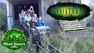 Video Th13teen Offride HD Alton Towers Resort download MP3, 3GP, MP4, WEBM, AVI, FLV November 2017