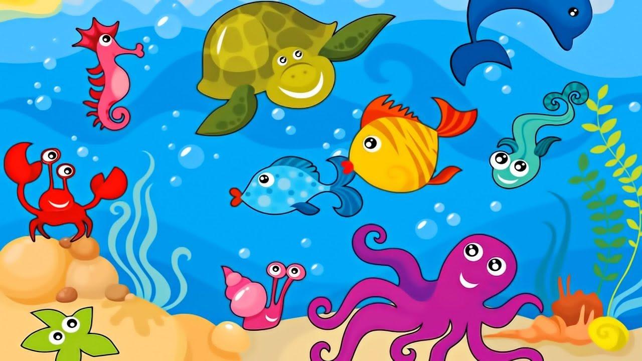 Морские картинка для детей