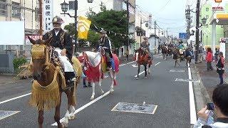 8年ぶりに騎馬武者行列 福島・浪江で相馬野馬追が開幕