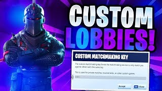 FORTNITE CUSTOM MATCHMAKING LIVE! COME JOIN! (FORNITE BATTLE ROYALE!) NEW SKINS !