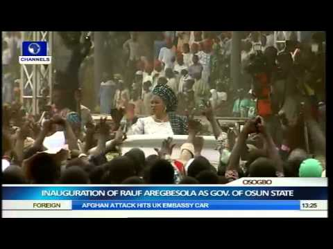 Inauguration Of Rauf Aregbesola As Governor Of Osun State Part 8