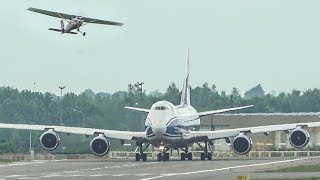 """BOEING 747 vs. CESSNA 172 - """"LET` S GET OUTTA HERE"""" (4K)"""
