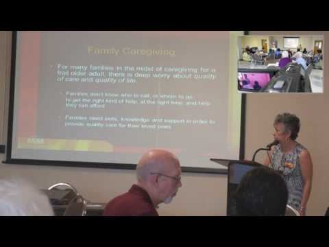 SA STGEC: AD Rural Talk | Del Rio--Caregiver Stress & Resources (2014)