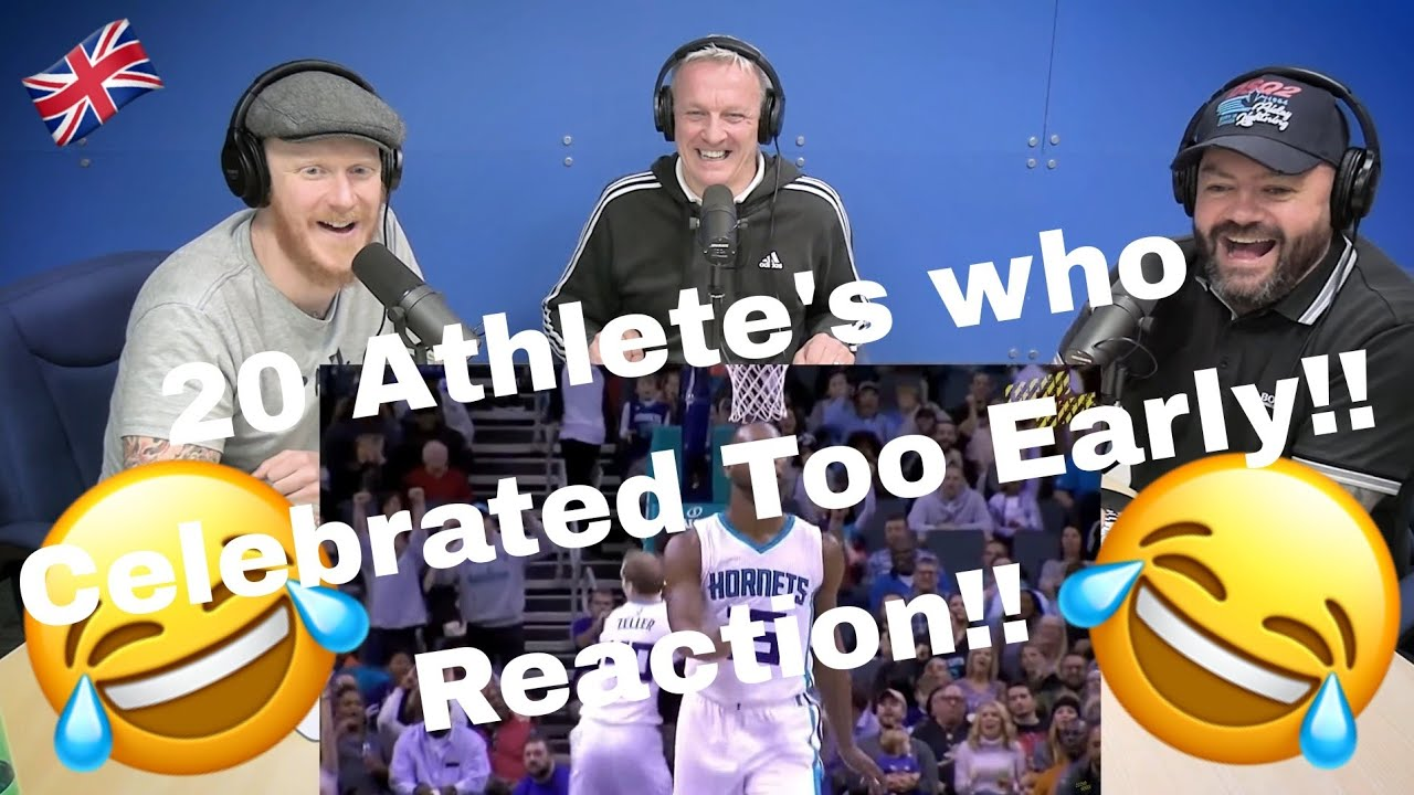 20 ATHLETES WHO CELEBRATED TOO EARLY REACTION!! | OFFICE BLOKES REACT!!
