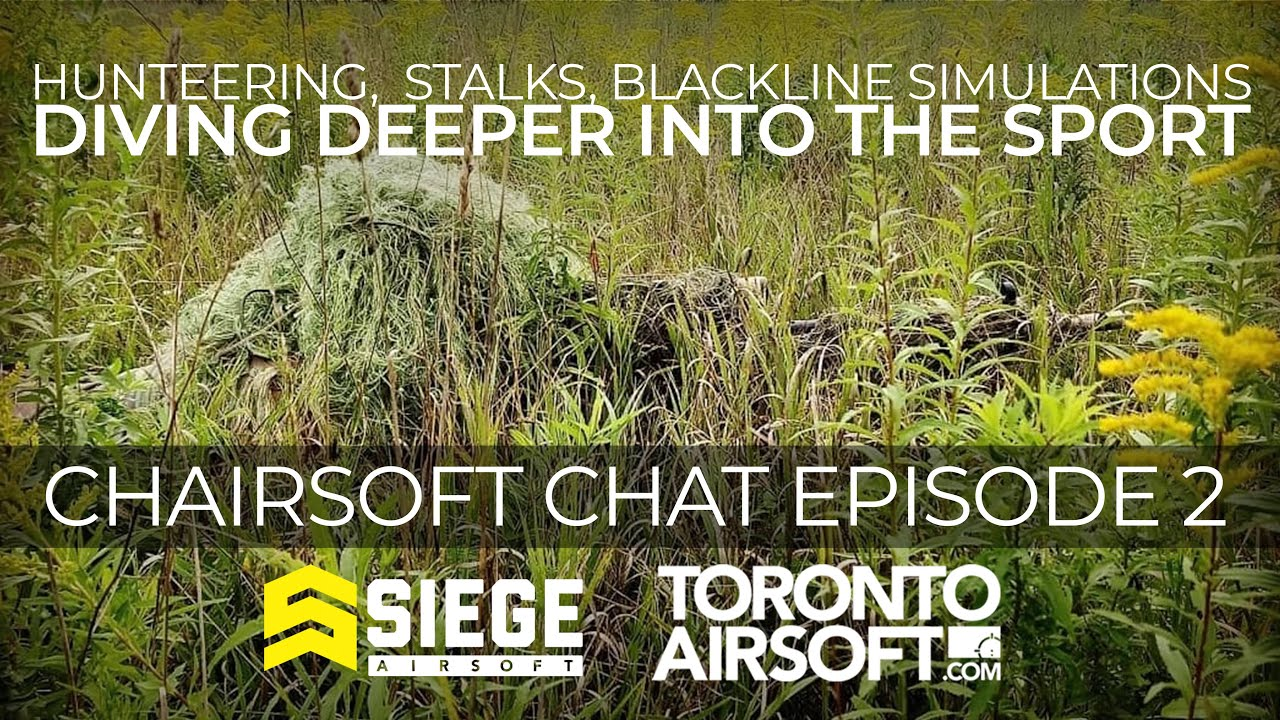 Sniping, Hunteering, Blackline simulations: Diving deeper into the sport. Chairsoft Chat Ep2.