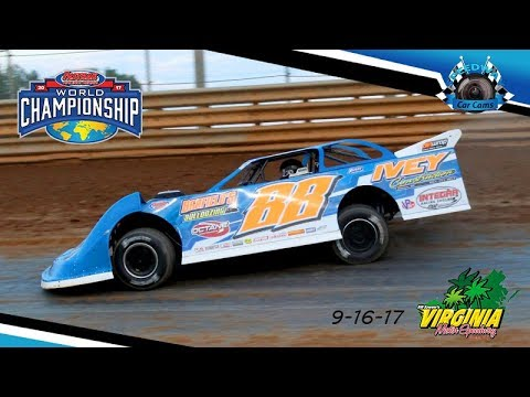 #88 Trent Ivey - Crate Late Model - 9-16-17 Virginia Motor Speedway - In Car Camera