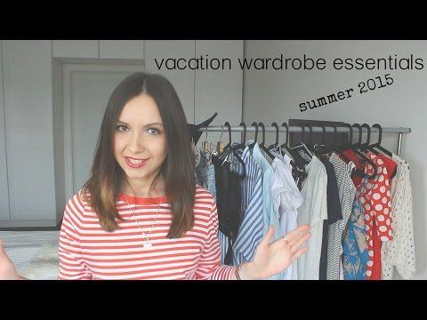 Какую одежду взять в отпуск. Весна-лето 2015. Часть 1