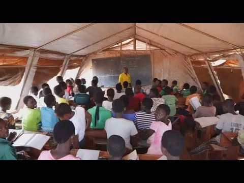 Refugee children face challenges getting an education in Tanzania