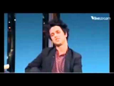 Times Talk 2011  Billie Joe talking about John Gallagher Jr