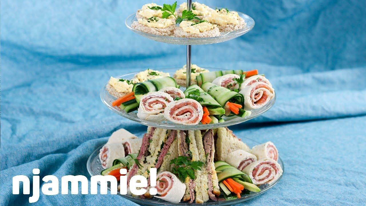 Super 4x High tea hapjes Recept - njammie! - YouTube TE-66