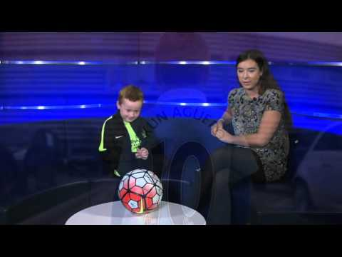 Young City fan celebrates meeting Sergio Aguero - Manchester Headline News
