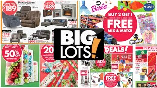 BIG LOTS BLACK FRIDAY 2019 FULL AD PREVIEW