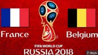 France vs Belgium World Cup FIFA 18 Predictions
