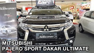 Video Mitsubishi Pajero Sport Dakar Ultimate (CKD) 2017 - Exterior and Interior download MP3, 3GP, MP4, WEBM, AVI, FLV Agustus 2018