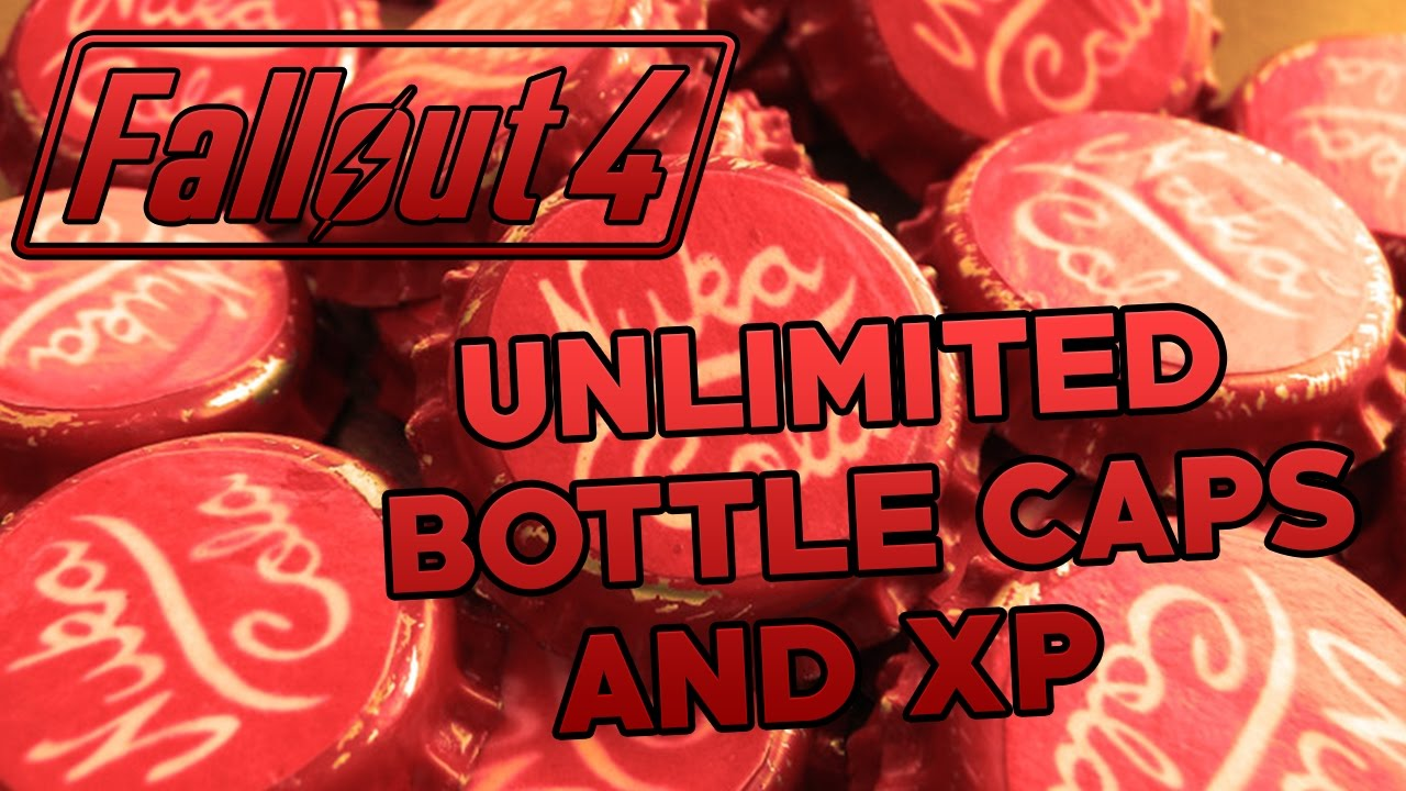 fallout 4 unlimited bottle caps and xp glitch xbox one and ps4