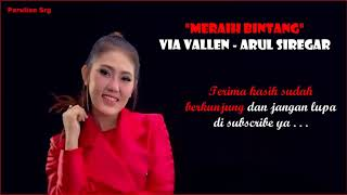"Meraih Bintang Versi Duet ""Via Vallen - Arul Siregar SONG OF ASIAN GAMES 2018"