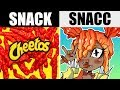 IF CHIPS AND SNACKS WERE CUTE GIRLS