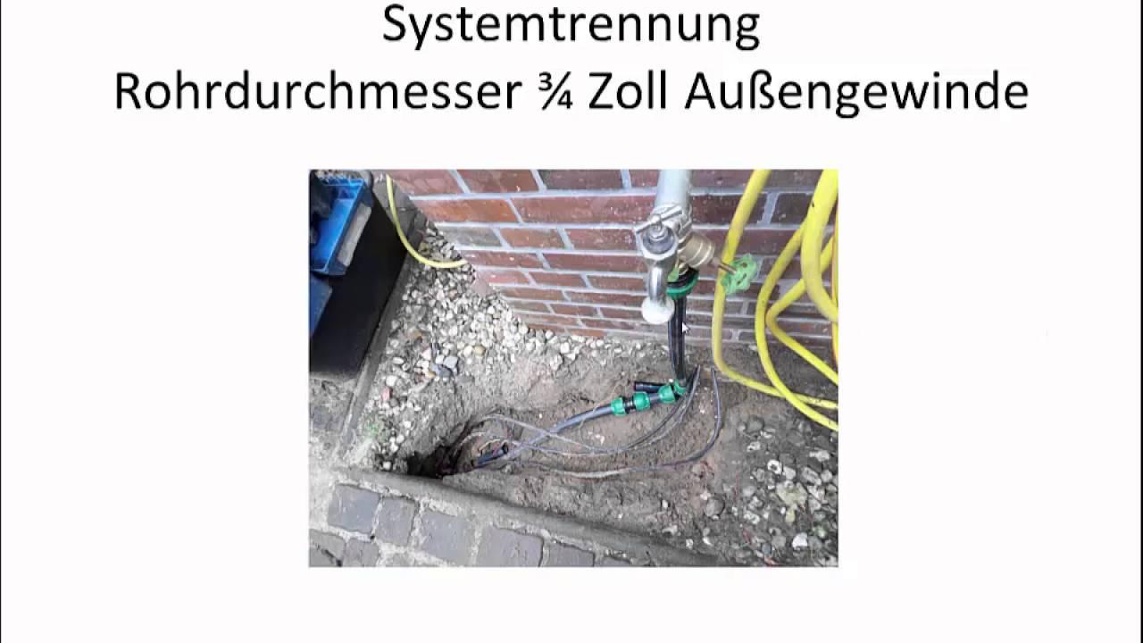 Gartenbewässerung Teil 2 Endlich Genug Wasserdruck Im Garten Youtube